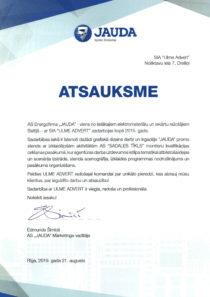 Ulme_Advert_Jauda_atsauksme